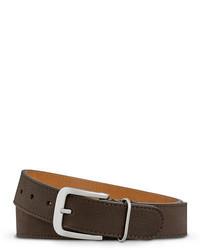 Shinola G 10 Single Keeper Leather Belt