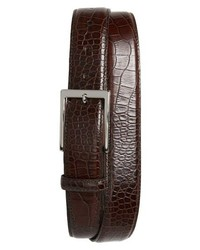 Torino Belts Gator Embossed Leather Belt