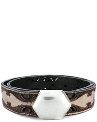 Golden Goose Deluxe Brand Laser Cut Belt
