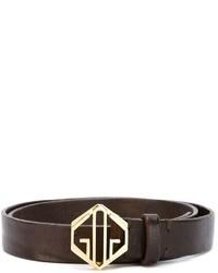Golden Goose Deluxe Brand Logo Buckle Belt