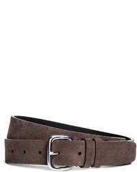 Brooks Brothers Harrys Of London Kudu Leather Belt