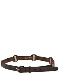 Kapital Distressed Leather Belt
