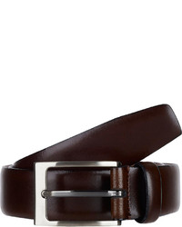 Barneys New York Leather Belt Brown Size 42