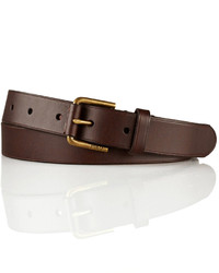 Polo Ralph Lauren Leather Covered Buckle Belt