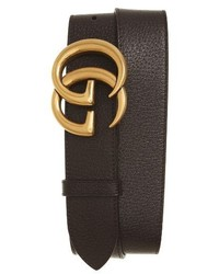 Gucci Marmont Logo Leather Belt