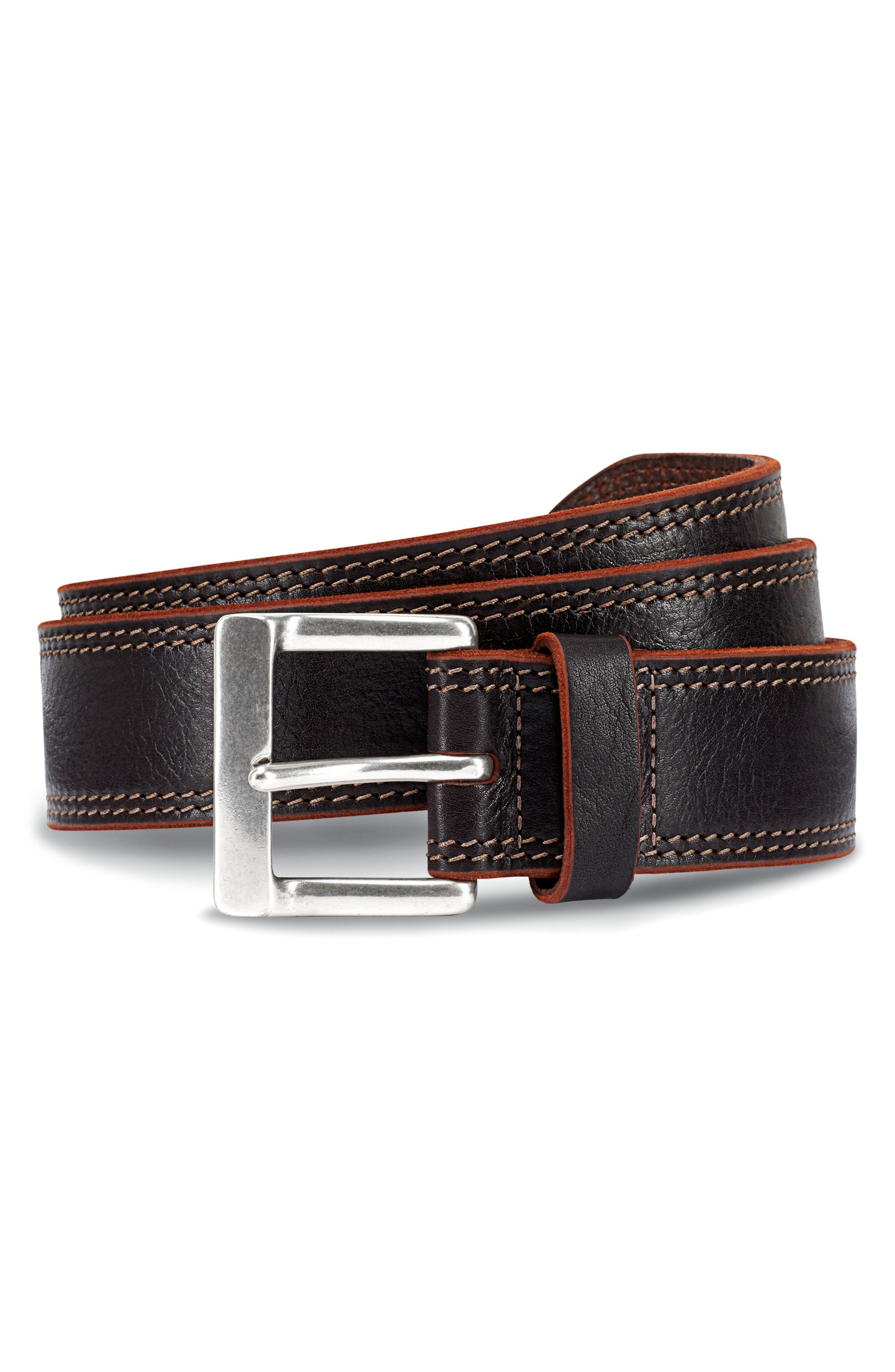 Allen Edmonds Quay Avenue Leather Belt
