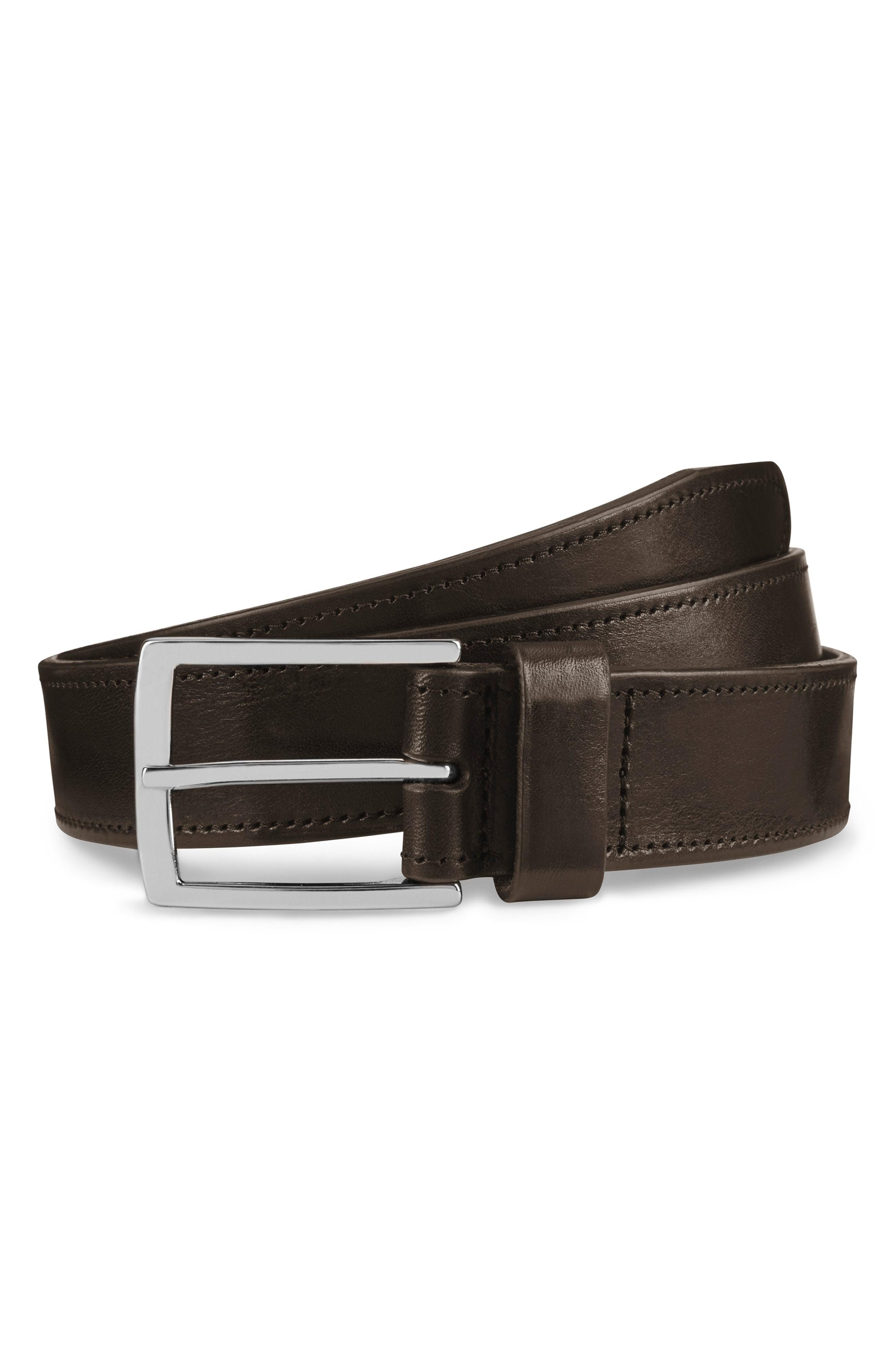 Allen Edmonds Radiant Avenue Leather Belt
