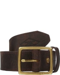 Rag and Bone Rag Bone Distressed Leather Belt Brown