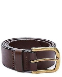 American Apparel Rsalh541 Flat Edge Leather Belt