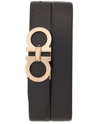 Salvatore Ferragamo Calfskin Leather Belt