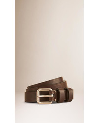 Burberry Skinny Leather Belt
