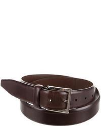 Santoni Smooth Leather Belt