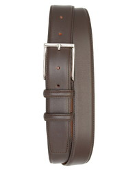 Santoni Vitello 3 Leather Belt