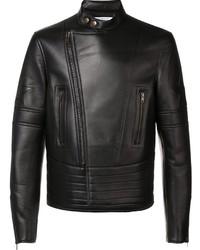 Band collar biker jacket medium 807621