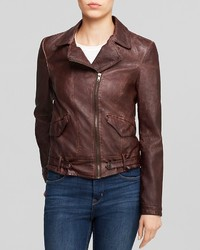 KUT from the Kloth Dean Faux Leather Moto Jacket