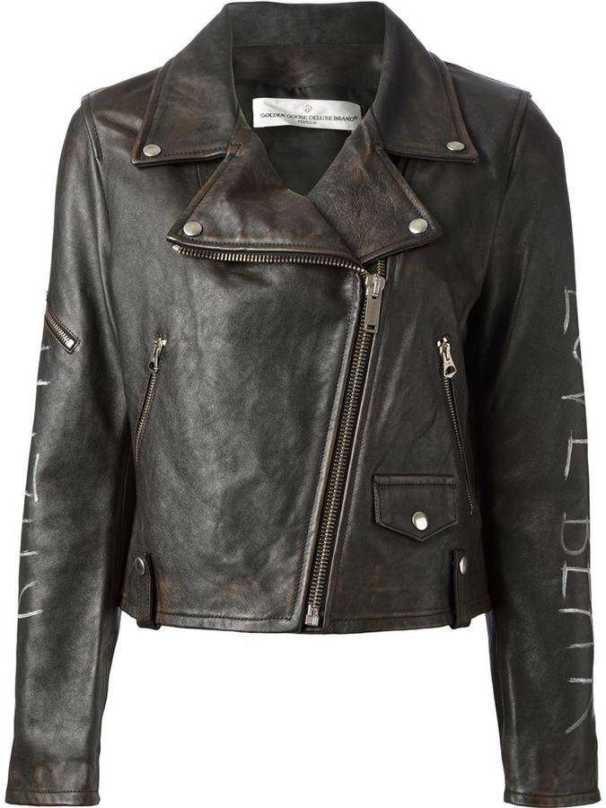 golden goose deluxe brand bear biker jacket where to buy how. Black Bedroom Furniture Sets. Home Design Ideas