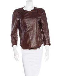 Kaufman Franco Kaufmanfranco Paneled Leather Jacket