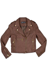 Members Only Leather Moto Jacket