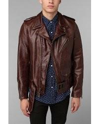 Schott Moto Leather Jacket