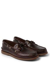 Sperry Authentic Original Burnished Leather Boat Shoes