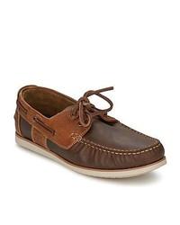 Barbour Flinders Beige Boat Shoes