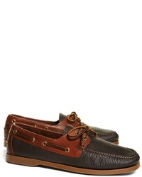 d44f77be83 Men's Boat Shoes by Brooks Brothers | Men's Fashion | Lookastic.com