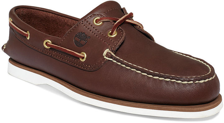 56b347bd9f3d ... Timberland Classic 2 Eye Boat Shoes ...