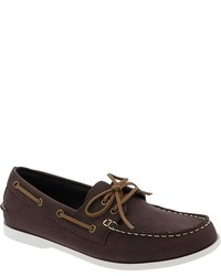 Old Navy Faux Leather Boat Shoes