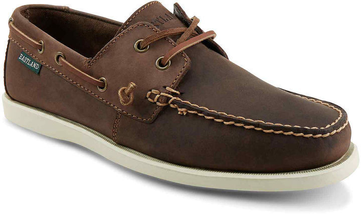 38f8973545be Eastland Freeport Leather Boat Shoes