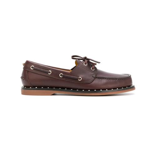 ef5ca8b0716 ... Valentino Garavani Rockstud Derby Shoes ...