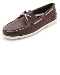 Python boat shoes medium 218441