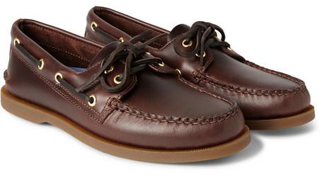 Sperry Chaussures Bateau En Cuir Topsider En Brun - Brun Y8zIa1wwCY