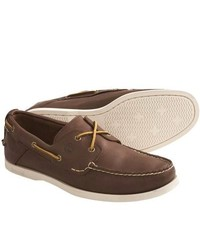 Timberland Earthkeepers Heritage Boat Shoes Leather Brown