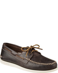 Sperry Top Sider Ao 2 Eye Wedge Leather Boat Shoe
