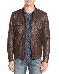 b847863e3 Men's Leather Bomber Jackets by Lucky Brand | Men's Fashion ...