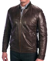 Andrew Marc New York Andrew Marc Cash Leather Bomber Jacket