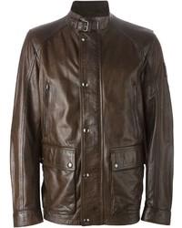 Belstaff Buckled Collar Jacket