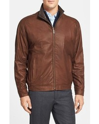 Big Tall Remy Leather Lite Lambskin Leather Jacket