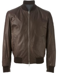 Brunello Cucinelli Zip Bomber Jacket