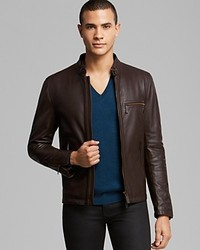 Burberry London Lockwood Leather Jacket