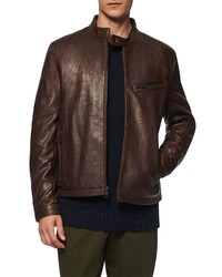 Andrew Marc Cumberland Leather Racer Jacket