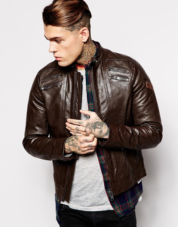 Where To Buy Mens Leather Jackets Rz6DqY