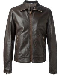 Dolce & Gabbana Classic Leather Jacket