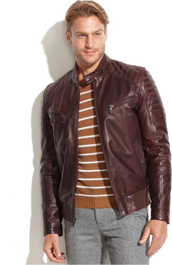 Ungaro Emanuel Emanuel Quilted Leather Moto Jacket   Where to buy ... : quilted leather moto jacket - Adamdwight.com