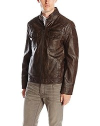 Kenneth Cole New York Kenneth Cole Reaction Faux Leather Moto Jacket