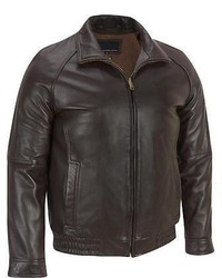 Wilsons Leather Lamb Bomber Jacket W Zipout Thinsulate Lining