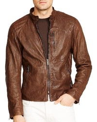Ralph Lauren Black Label Leather Shirt Jacket