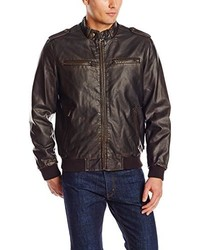 Levi's Faux Leather Fashion Bomber Jacket