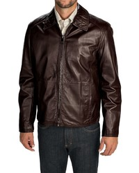 Andrew Marc Marc New York By Sherman Leather Jacket