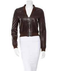 Michael Kors Michl Kors Leather Jacket